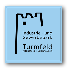 Logo des Industrie- und Gewerbeparks Turmfeld